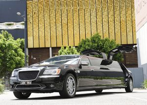2014 Chrysler 300C Limousine with gull wing doors